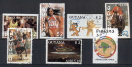 Guyana 1989 Summer Olympics, Sport CTO - Guyane (1966-...)