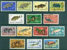 British Honduras 1968-72 Pictorials, Wildlife Asst. MLH/FU - Ecuador