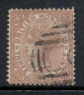 British Honduras 1877-79 3d Brown QV Portrait Wmk Crown CC FU - Equateur