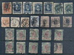 Brazil 1880's On Assorted Oddments FU - Unclassified