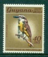 Guyana 1984 Pictorials, Bird 225 On 10 Opt MUH - Guyana (1966-...)