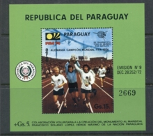 Paraguay 1974 World Cup Soccer Munich MS MUH - Paraguay