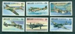 Belize 1990 Battle Of Britain, Airplanes MUH Lot81064 - Belize (1973-...)