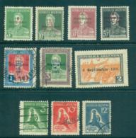 Argentina 1931 Revolution Opt (7) MLH/FU Lot37122 - Argentina