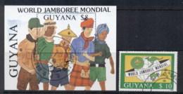 Guyana 1989 Scouts + MS CTO - Guyana (1966-...)