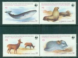 Chile 1984 1990 WWF Endangered Species MUH Lot76148 - Equateur