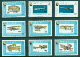 Belize 1979 Powrered Flight 75th Anniv., Rowland Hill MUH - Belize (1973-...)