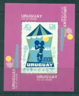 Uruguay 1974 UPU Centenary/Tourism MS MUH Lot56360 - Uruguay