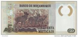 MOZAMBIQUE P. 150 50 M 2011 UNC - Mozambique