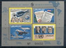 Uruguay 1975 Apollo-Soyuz Joint Russia/USA Space Project MS II MUH - Uruguay
