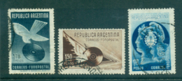 Argentina 1939 Phonograph Mailing Stamps (1.18p Cresaed) FU Lot37138 - Argentina