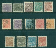 Brazil 1922-29 Pictorials Asst Wmk CASS DA MOEDA (14) FU Lot36142 - Unclassified