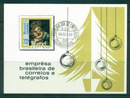 Brazil 1969 Xmas MS FU Lot36494 - Brazil