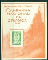 Brazil 1948 National Education Souvenir Card Lot36507 - Unclassified