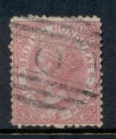 British Honduras 1872 6d Rose QV Portrait Wmk Crown CC Perf 12.5 FU - Equateur