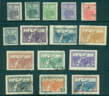 Argentina 1930 Revolution Of 1930 Asst (15) MLH/FU Lot37120 - Argentina