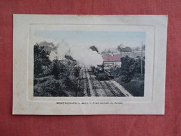 France > [41] Loir Et Cher > Montrichard  Train By Tunnel  -ref 3097 - Montrichard