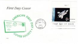 #2544, $3.00 Space Shuttle 'Challenger', FDC Anaheim CA 22 June 1995 Postmark - 1991-2000