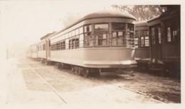 Photo Bellingham WA Electric Co. #691 Train Car Interurban(?) Railroad 1938 Snapshot - Trains