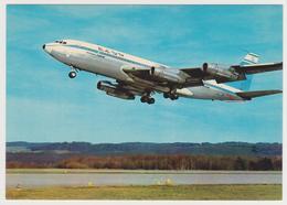 1010. EL AL / אל על (Israel), Boeing 720 B.- Avion, Plane, Aereo, Flugzeug.- Non écrite. Unused. No Escrita. Non Scritta - 1946-....: Ere Moderne