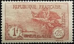 France Y&T N°231 La Marseillaise à Paris 1Fr.+25c Carmin Neuf* Gomme - France