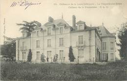 """CPA FRANCE 44 """"La Chapelle Sur Erdre, Château De La Pannetière"""" - Other Municipalities"""