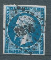 N°14Ah VARIETE POSTFS. - 1853-1860 Napoléon III