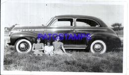 104882 AUTOMOBILE CAR AUTO COUPE AND GIRL'S PHOTO NO POSTAL POSTCARD - Cartes Postales