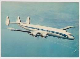 1014/ AIR FRANCE Super G Constellation (1950s).- Non écrite. Unused. No Escrita. Non Scritta. Nicht Geschrieben. - 1946-....: Ere Moderne