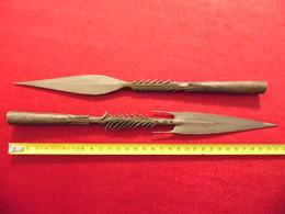 Pointes De Lances Fer - Knives/Swords