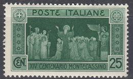 ITALIA - 1929 - Yvert 245 Nuovo MNH, Come Da Immagine. - 1900-44 Victor Emmanuel III