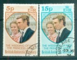 BAT 1973 Princess Anne Wedding FU Lot78043y7u - British Antarctic Territory  (BAT)