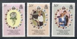 Tristan Da Cunha 1981 Charles & Diana Royal Wedding MUH - Tristan Da Cunha