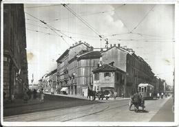 104895 ITALY MILANO MIALN LOMBARDIA STREET VIGEVANO & GORIZIA TRAMWAY POSTAL POSTCARD - Italie