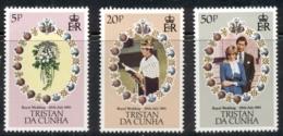 Tristan Da Cunha 1981 Royal Wedding Charles & Diana MUH - Tristan Da Cunha