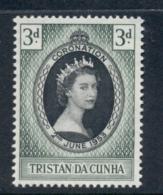 Tristan Da Cunha 1953 Coronation MUH - Tristan Da Cunha