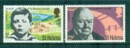St Helena 1974 Winston Churchill MUH - Saint Helena Island