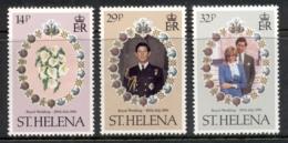 St Helena 1981 Royal Wedding Charles & Diana MUH - Sainte-Hélène