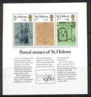 St Helena 1980 London 80 MS MUH - Saint Helena Island