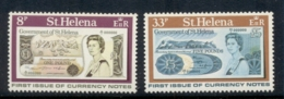 St Helena First Issue Of St Helena Banknotes MLH - Saint Helena Island
