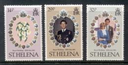 St Helena 1981 Royal Wedding Charles & Diana MLH - Saint Helena Island