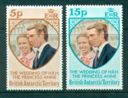 BAT 1973 Princess Anne Wedding MUH Lot30285 - British Antarctic Territory  (BAT)