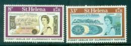 St Helena 1976 First St Helena Banknotes MUH - Saint Helena Island