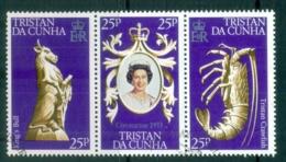 Tristan Da Cunha 1978 QEII Coronation 25th Anniv FU - Tristan Da Cunha