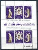 Tristan Da Cunha 1978 QEII Coronation 25th Anniv. MS MUH - Tristan Da Cunha