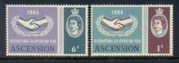 Ascension Is 1965 ICY MUH - Ascension (Ile De L')