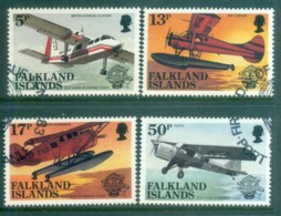 Falkland Is 1983 Planes FU Lot77805 - Falkland