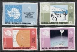 BAT 1981 Antarctic Treaty MUH - British Antarctic Territory  (BAT)