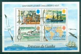 Tristan Da Cunha 1973 Centenary Of HMS Challenger's Visit MS CTO - Tristan Da Cunha