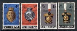 St Helena 1970 Regimental Emblems MUH - Saint Helena Island